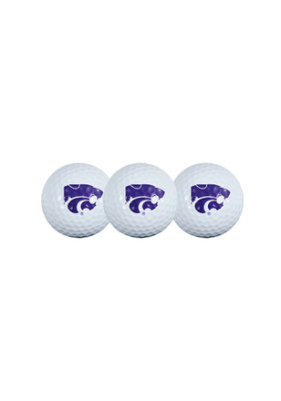 K-State Wildcats 3-Pack Golf Balls