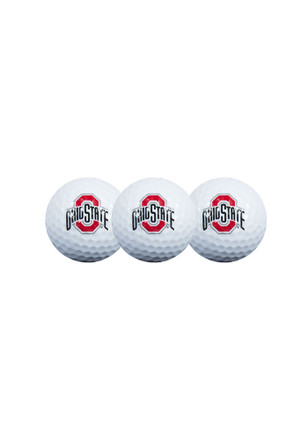 Ohio State Buckeyes 3-Pack Golf Balls
