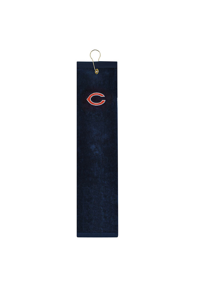 Chicago Bears Embroidererd Tri-Fold Golf Towel - Image 1
