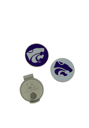 K-State Wildcats Interchangeable Ball Marker Cap Clip