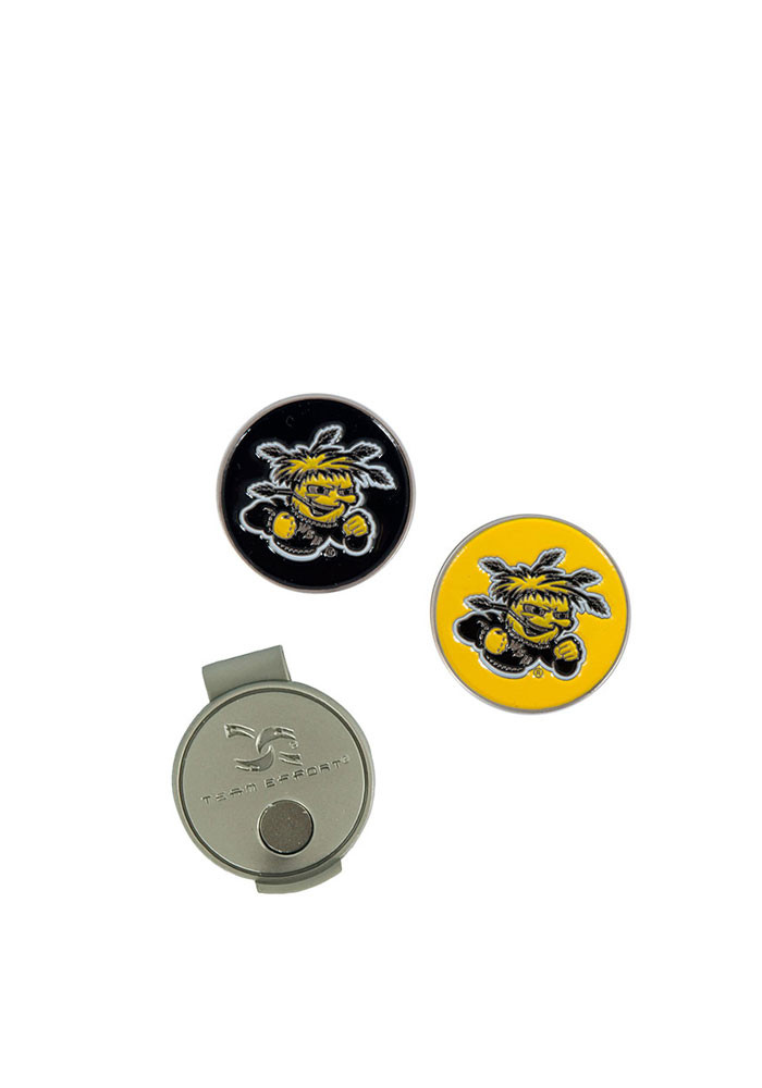 Wichita State Shockers Interchangeable Ball Marker Cap Clip - Image 1