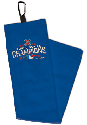 Chicago Cubs Embroidererd Tri-Fold Golf Towel