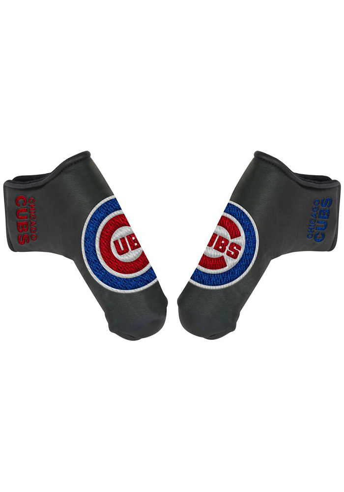 Chicago Cubs Grey Blade Putter Cover - Image 1