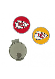 Kansas City Chiefs Cap Clip Golf Ball Marker