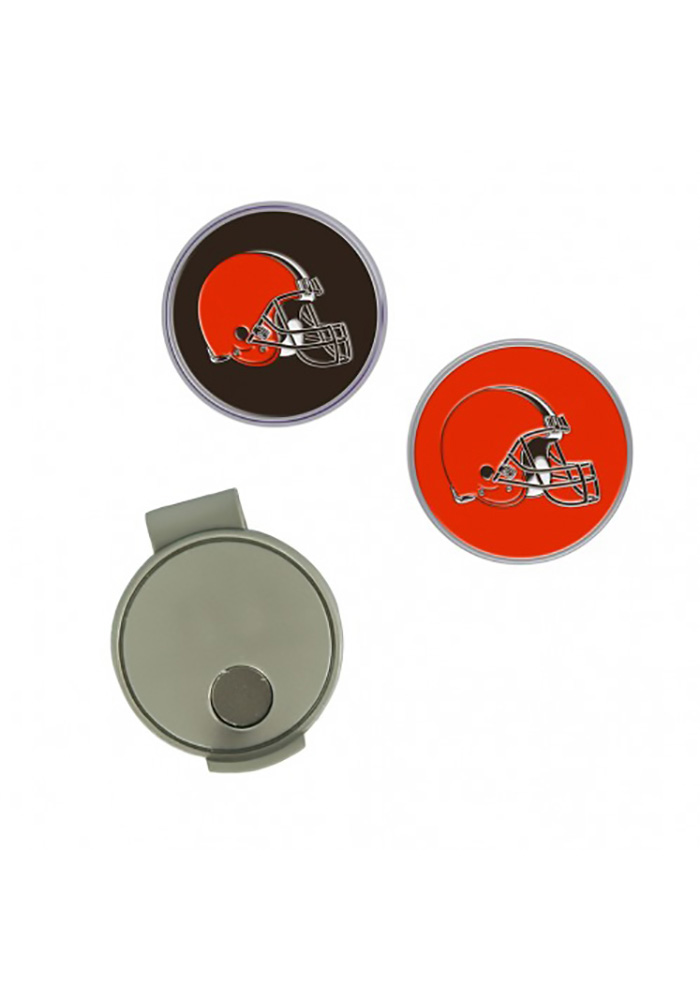 Cleveland Browns Cap Clip Golf Ball Marker - Image 1