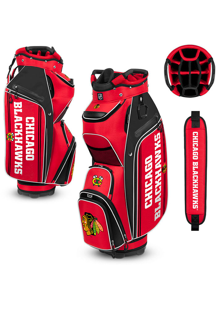 Chicago Blackhawks Cart Golf Bag - Image 1