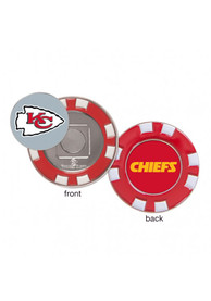 Kansas City Chiefs Poker Chip Golf Ball Marker