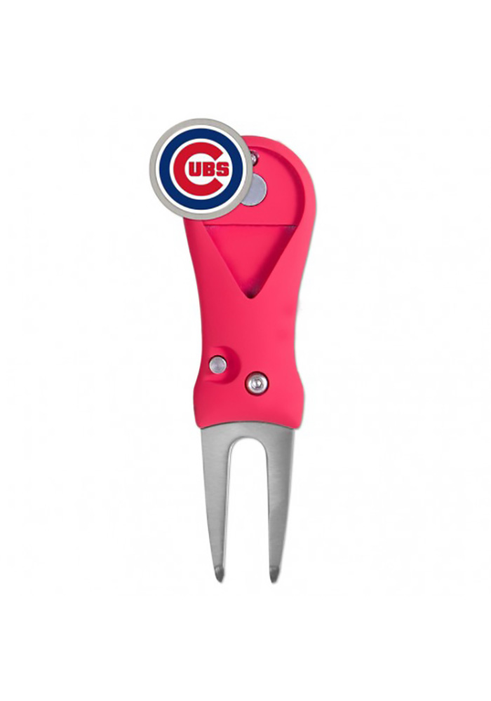 Chicago Cubs Spring Action Divot Tool - Image 1
