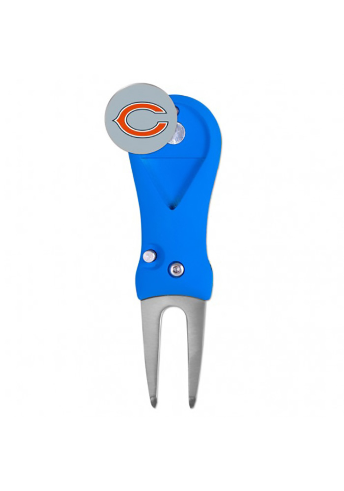 Chicago Bears Spring Action Divot Tool - Image 1