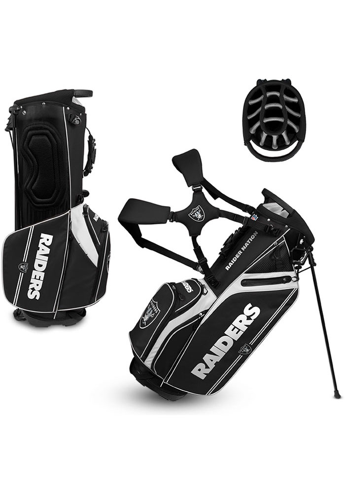 Oakland Raiders Stand Golf Bag - Image 1