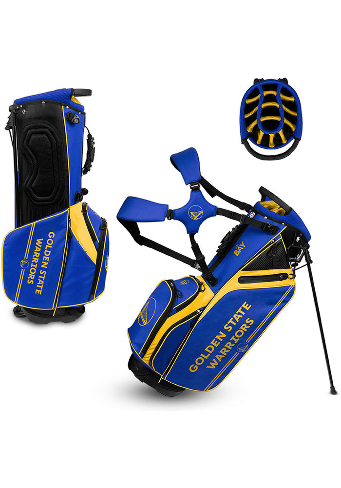 Golden State Warriors Stand Golf Bag - Image 1