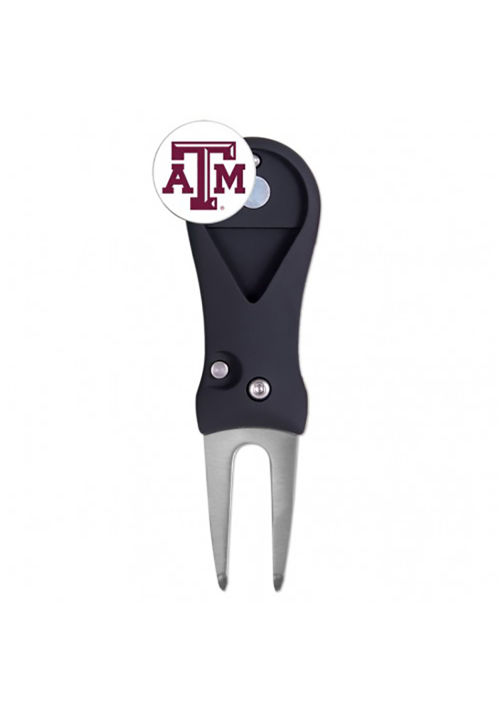 Texas A&M Aggies Spring Action Divot Tool - Image 1