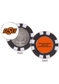 Oklahoma State Cowboys Poker Chip Golf Ball Marker