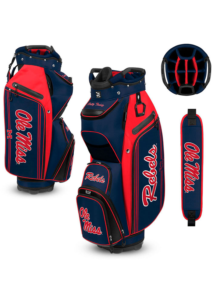 Ole Miss Rebels Cart Golf Bag - Image 1
