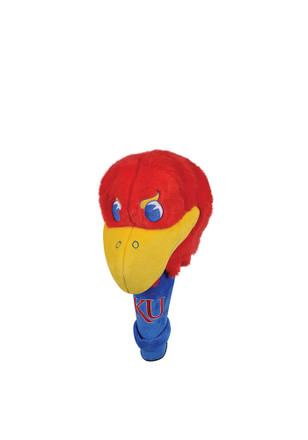 Kansas Jayhawks Mascot Headcover Golf Headcover