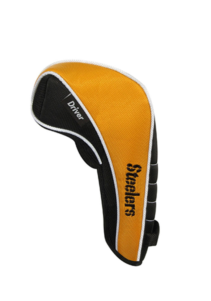 Pittsburgh Steelers Shaft Gripper Driver Golf Headcover - Image 2