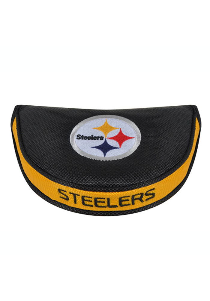 Pittsburgh Steelers Black Mallet Putter Cover - Image 1