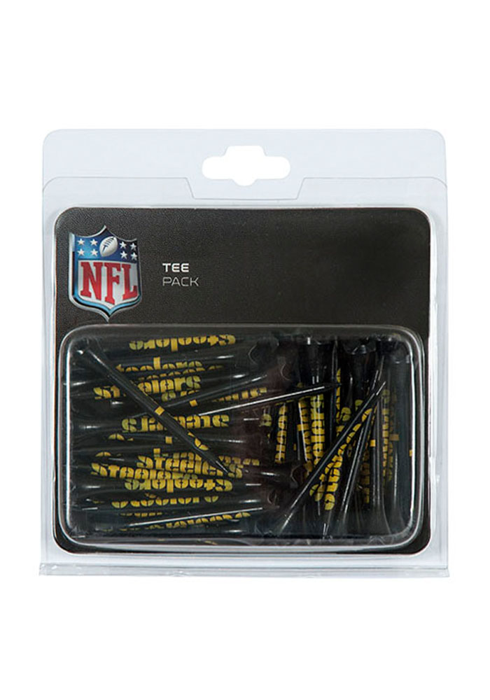 Pittsburgh Steelers 40 Pack Performance Golf Tees - Image 1