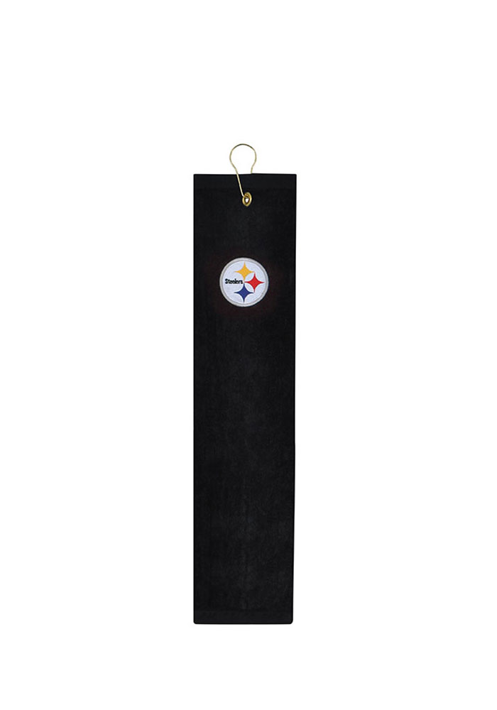 Pittsburgh Steelers Embroidererd Tri-Fold Golf Towel - Image 1