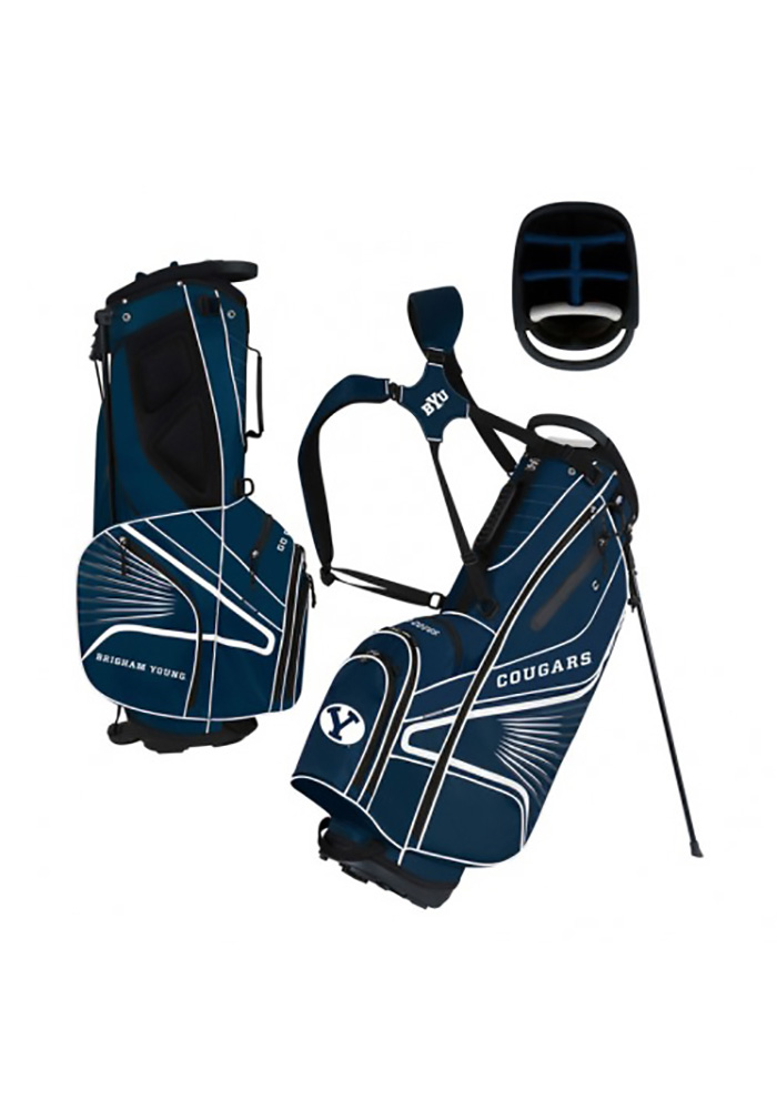 BYU Cougars Stand Golf Bag - Image 1