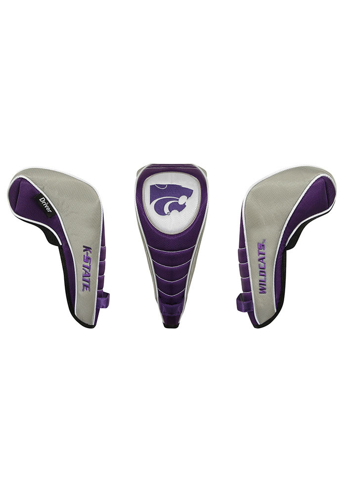 K-State Wildcats Shaft Gripper Driver Golf Headcover - Image 1
