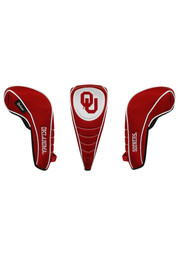 Oklahoma Sooners Shaft Gripper Driver Golf Headcover