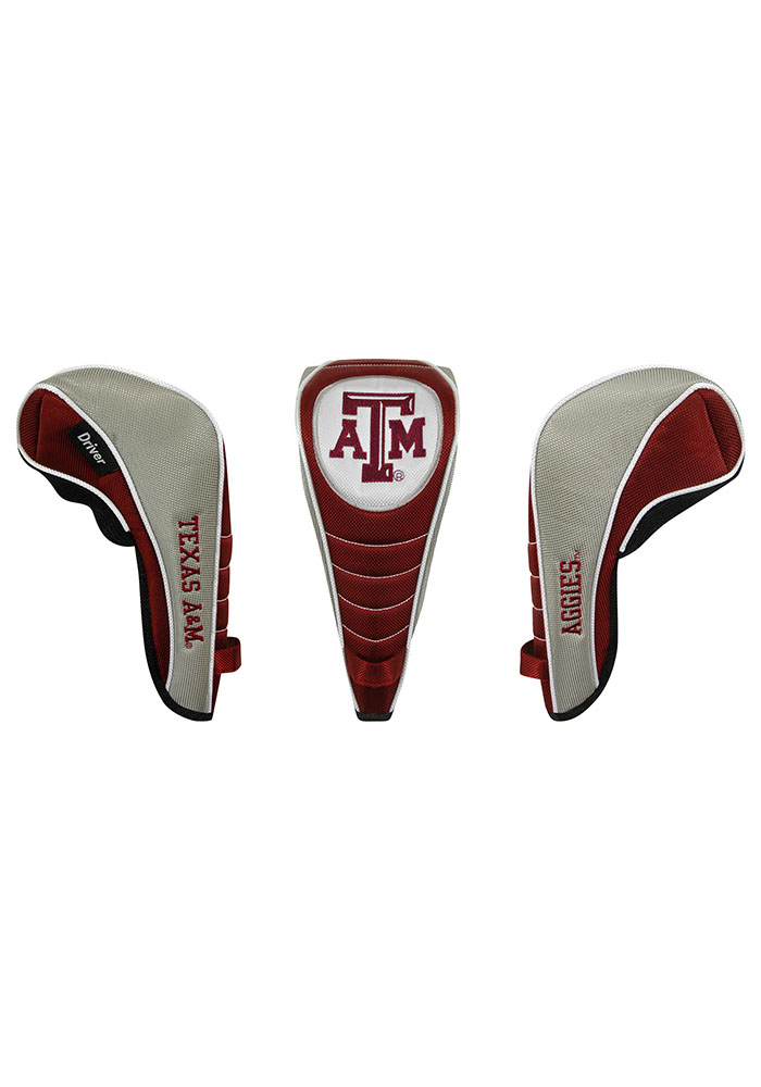 Texas A&M Aggies Shaft Gripper Driver Golf Headcover - Image 1