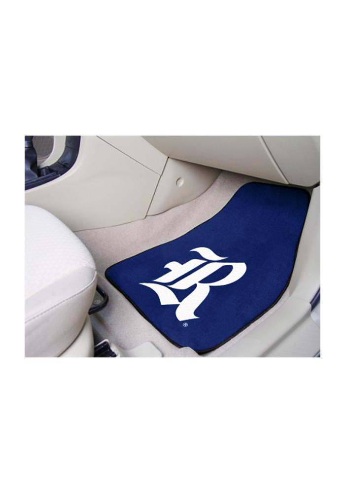 Sports Licensing Solutions Rice Owls 2-Piece Carpet Car Mat - Maroon - Image 1