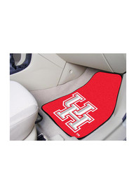 Sports Licensing Solutions Houston Cougars 2-Piece Carpet Car Mat - Red