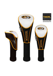 Missouri Tigers 3 Pack Nylon Golf Headcover