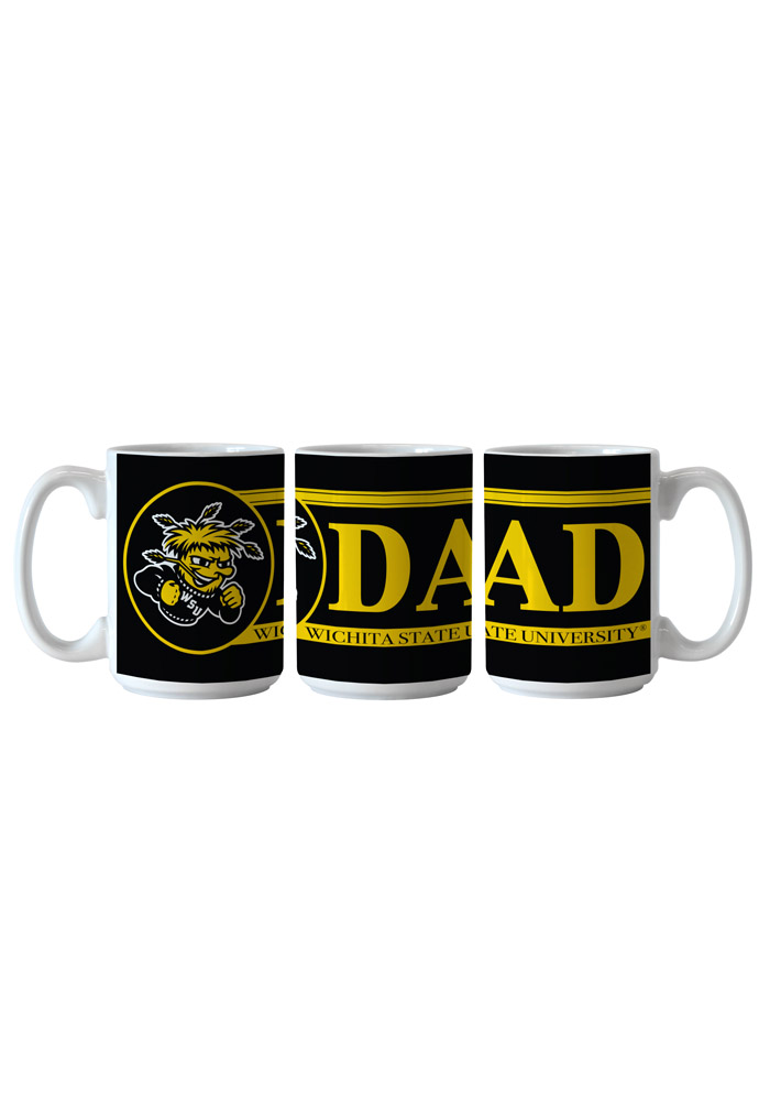 Wichita State Shockers Dad Ceramic Mug - Image 1