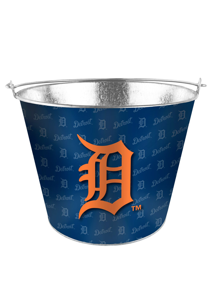 Detroit Tigers 5qt Galvanized Bucket - Image 1