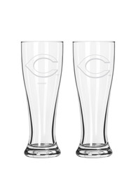 Cincinnati Reds 16oz Clear Pilsner Glass