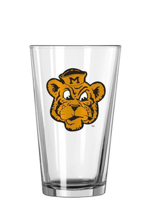 Missouri Tigers Mascot Pint Glass