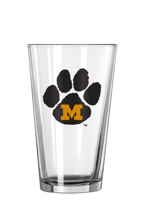Missouri Tigers Paw Pint Glass