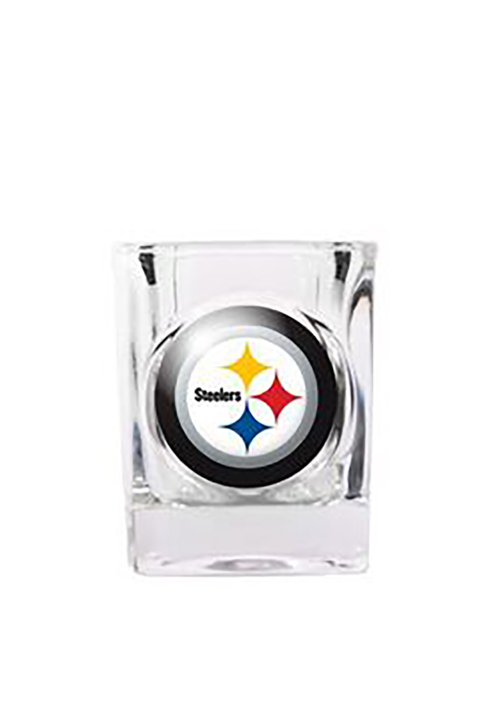 Pittsburgh Steelers 2oz Square Shot Glass - Image 1