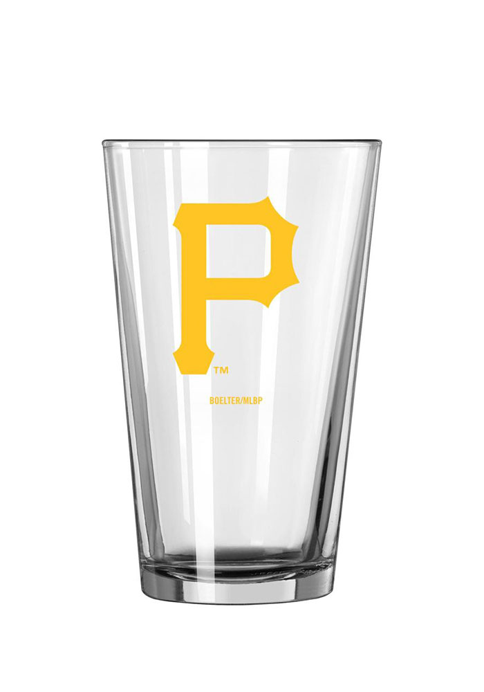 Pittsburgh Pirates 16oz Game Day Pint Glass - Image 1