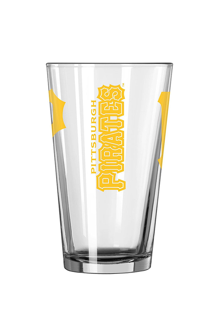 Pittsburgh Pirates 16oz Game Day Pint Glass - Image 2