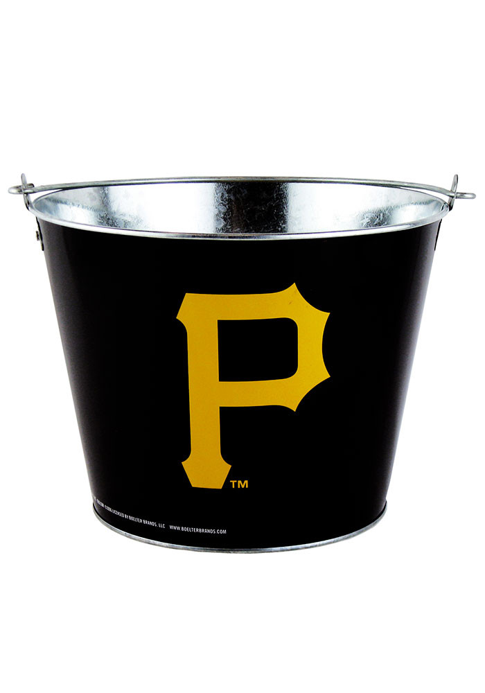 Pittsburgh Pirates 5QT Full Wrap Galvanized Bucket - Image 1