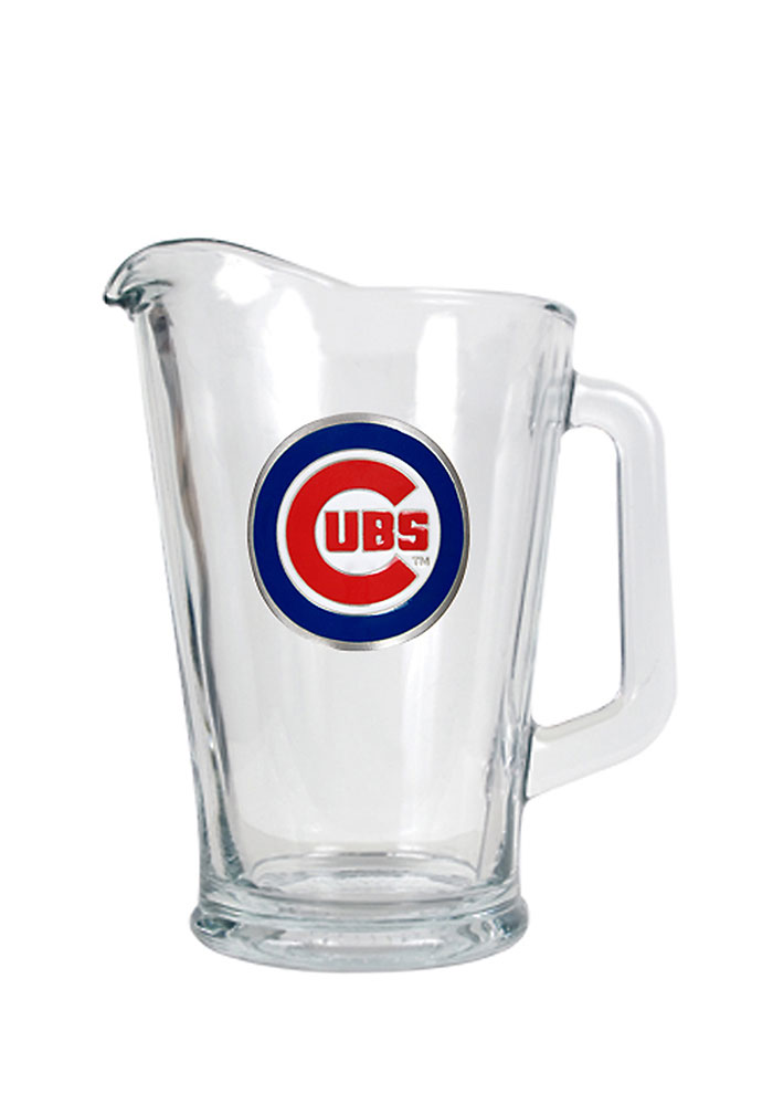 Chicago Cubs 64oz Glass Pitcher - Image 1