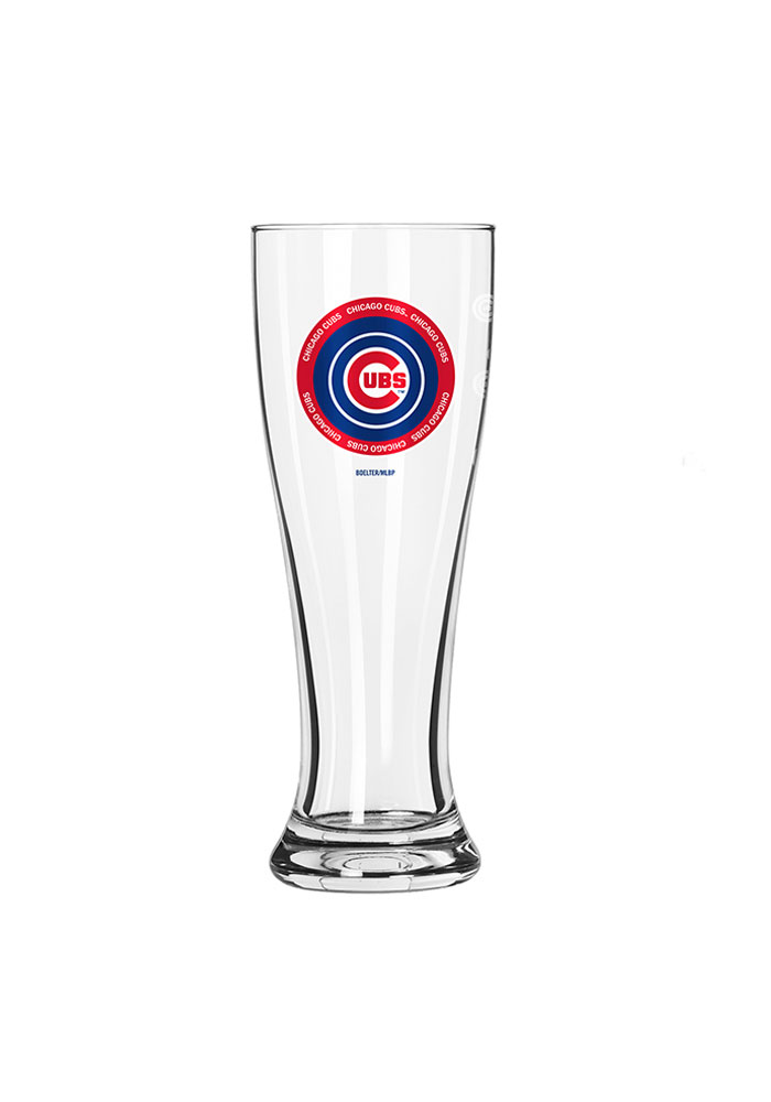 Chicago Cubs 16oz Ring of Honor Pilsner Glass - Image 1