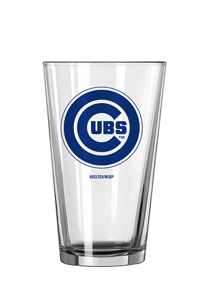 Chicago Cubs 16oz Game Day Pint Glass - Image 1