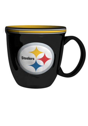 Pittsburgh Steelers 15oz Sculpted Bistro Mug