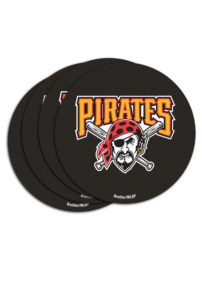 Pittsburgh Pirates 12 Pack Pulpboard Coaster - Image 1