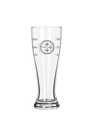 Pittsburgh Steelers 16oz Satin Etch Pilsner Glass
