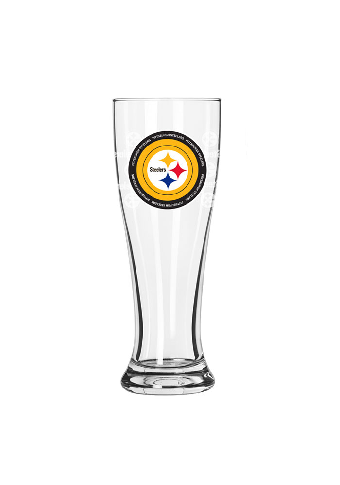 Pittsburgh Steelers 16oz Ring of Honor Pilsner Glass - Image 1