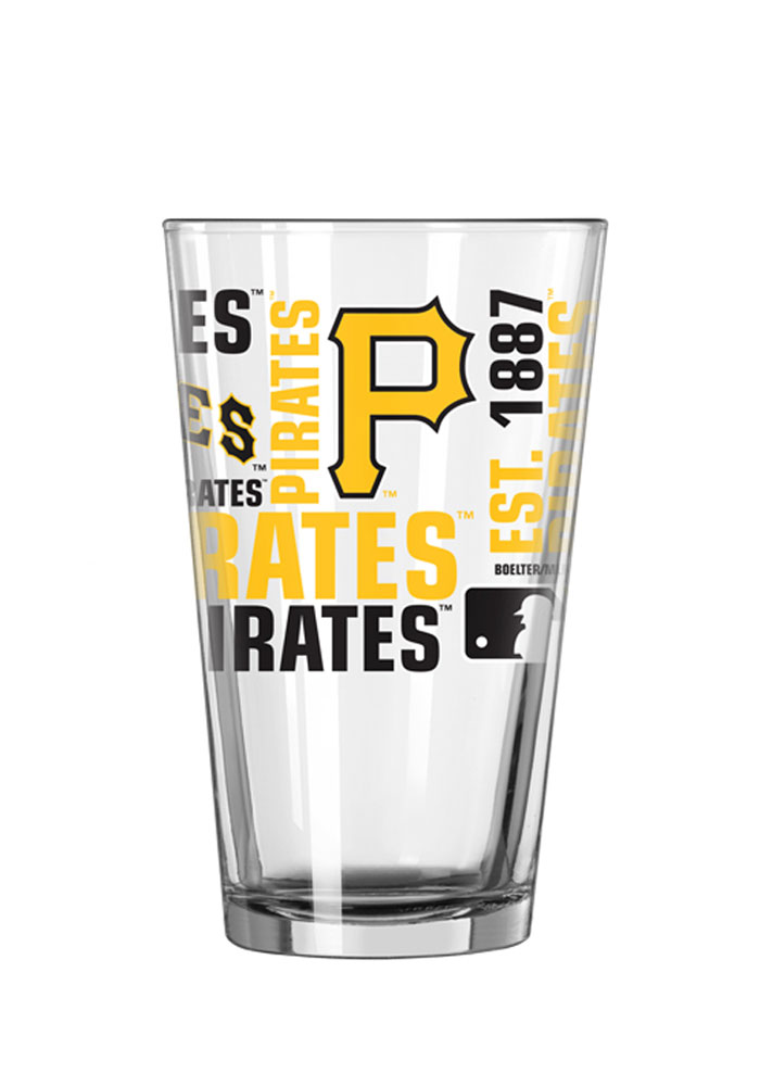 Pittsburgh Pirates 16oz Spirit Pint Glass - Image 2
