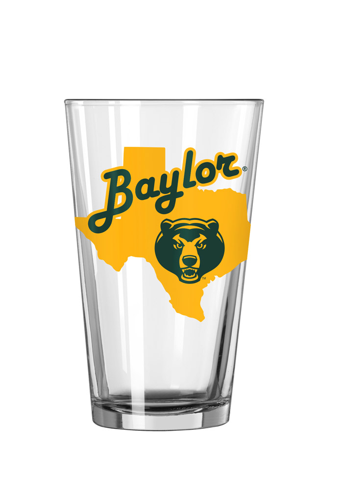 Baylor Bears State Pint Glass - Image 1