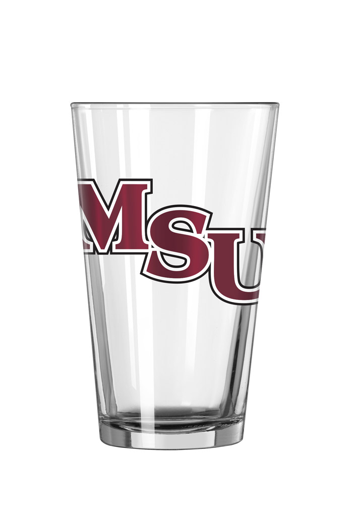 Missouri State Bears MSU Logo Pint Glass - Image 1