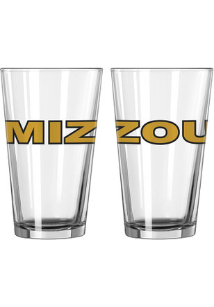 Missouri Tigers MIZ ZOU Pint Glass